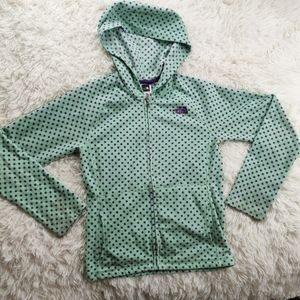 Girl's The North Face Hoodie Jacket (Size: 10/12)
